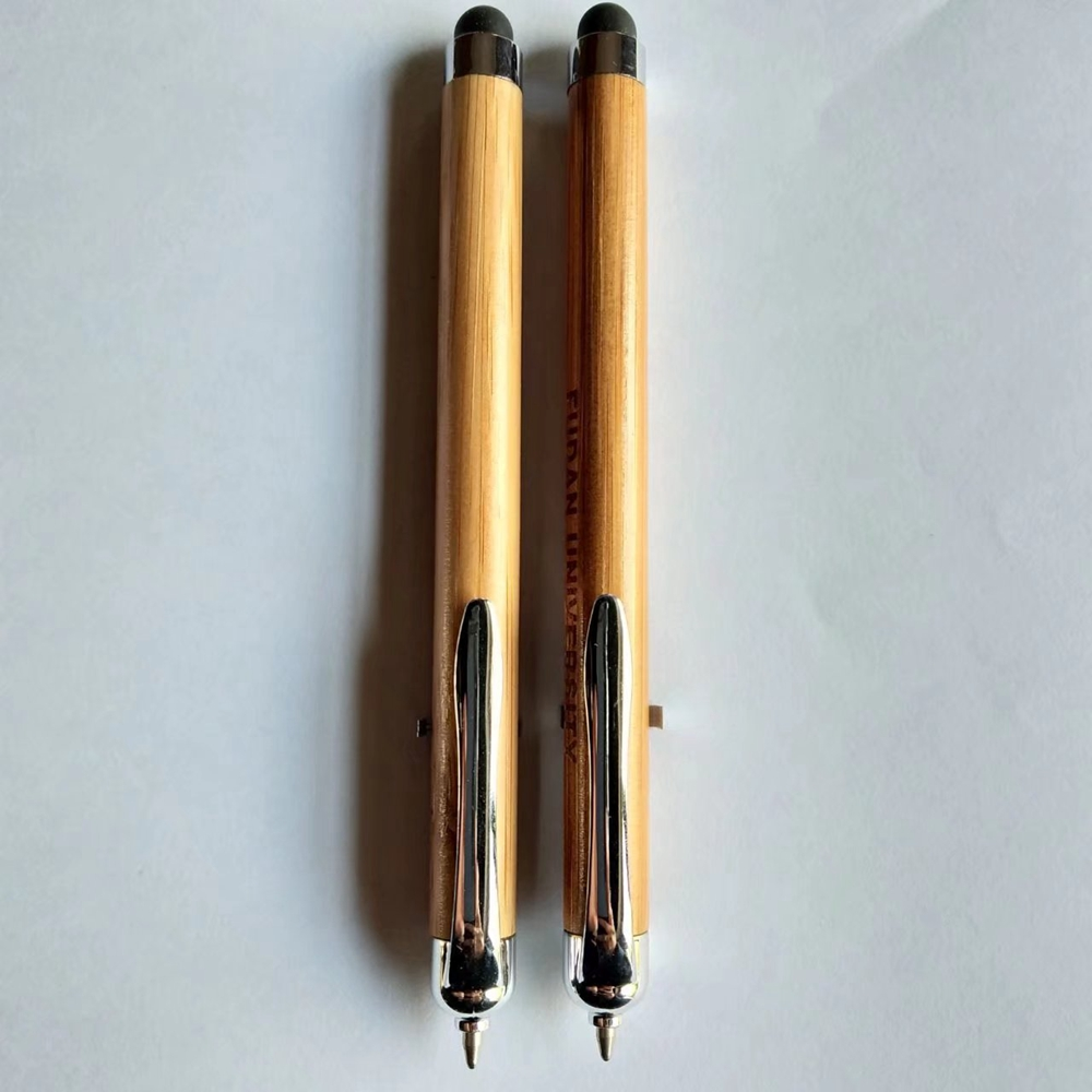 Stylus Bamboo Ball Pen
