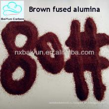 Дамп печи абразивы коричневый плавленого глинозема Ф16-220