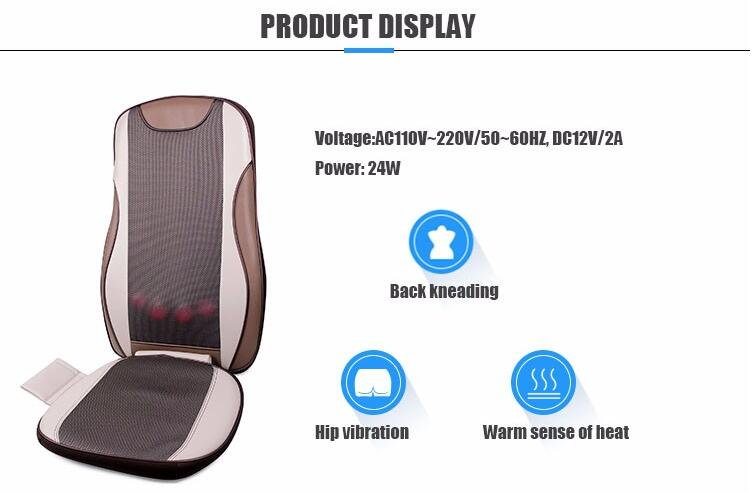 Heating Shiatsu Massage Cushion