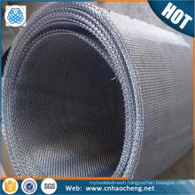 Heat resistant 60 mesh iron chromium aluminum alloy woven wire mesh/fecral wire net mesh
