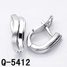 Самые последние ювелирные изделия способа серег 925 (Q-5412)