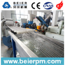 700-800kg / H Cold Strand PE Film Agglomaration Pelletizing Line