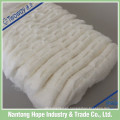 algodón absorbente en zig zag
