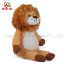 Cute design small baby plush lion toy for sale