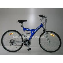 """26 """"bicicleta de montanha de armação de aço (2604)"""