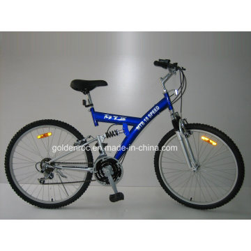 "26"" Steel Frame Mountain Bike (2604)"