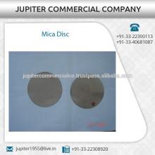 Industrie Standard Größe Low Cost Mica Disc