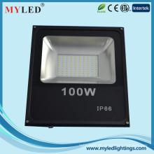 2015 neue LED-Scheinwerfer 100w IP65 6500lm AC85-265V im Freien slim SMD führte Flutlicht