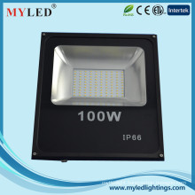 2015 new led floodlight 100w ip65 6500lm AC85-265V outdoor slim SMD led flood light