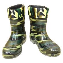 electrical insulation Waterproof PVC men rain boots Fishing gumboots for winter