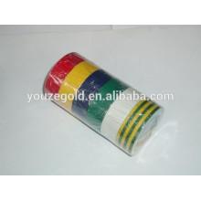 "PVC Fita isolante elétrica 7milx3 / 4 ""x33ft Fita adesiva ignífuga"
