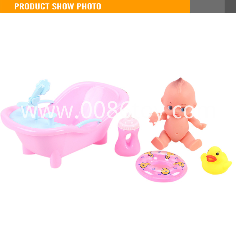 Toy small plastic baby dolls