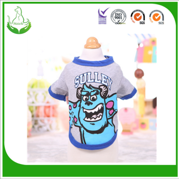T-shirt de Monsters Inc do verão Camisa Para Caes