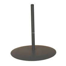 Base de pedestal para sinalização de haste de tubo quadrado