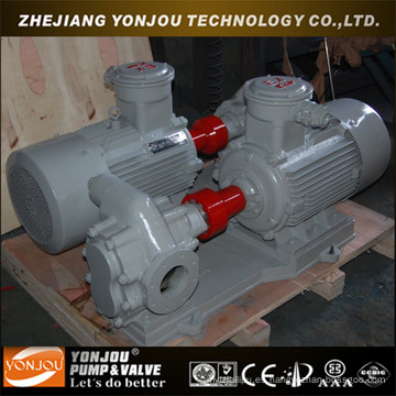KCB 2cy aceite caliente, aceite lubricante comercial bomba de engranaje hidráulica