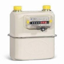 Medidor de gás de diafragma doméstico para unidade de medição de formação de um só, GS 2.5 diafragma
