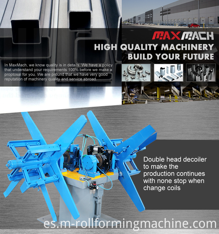 Steel pipe tube mill machine
