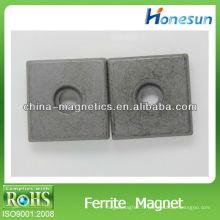 ferrite isotropes petit cube / les puissants aimants ferrite