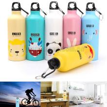 500ml Sports de plein air Cute Cute Cartoon animaux bouteille d'eau tasse cadeau pour les enfants