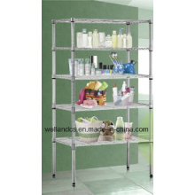 NSF Standard Chrome Metro Wire Shelving Rack (Loading Weight 800lbs/shelf) (CJ6035150A5C)