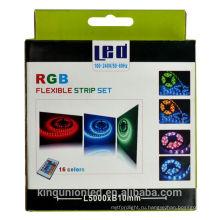 Набор для блистера с освещением Kingunion RGB 5050/3528/3014 Светодиодная лента 5M