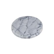 dessous de verre en marbre avec support à dessous de verre / tapis