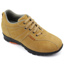 Yellow Men Shoes Leisure Shoes with Lace