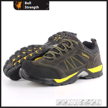 Suede Leather Safety Shoe with EVA+TPU+Rubber Outsole (SN5437)