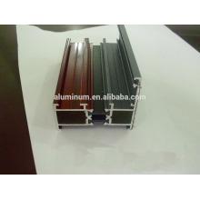 Revêtement en poudre et profils de rupture thermique