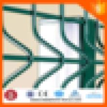 Alibaba Trade Assurance Ponte Cerca de Arame de Malha de Cerca de Segurança (PVC revestido & Galvanizado ISO 9001)