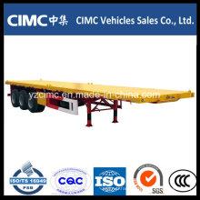 40FT Container Trailer / Cimc 3- Axle Flatbed Semi Trailer
