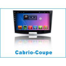 Android System Auto GPS Navigation für Cabrio-Coupé mit Auto DVD Spieler / Auto Bluetooth