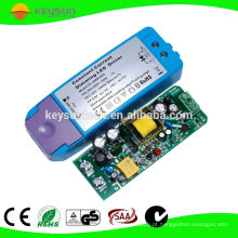 Suporte LED Lighting 7W CCT ajustável 350mA Dimming Constant Current LED Driver 9-24VDC