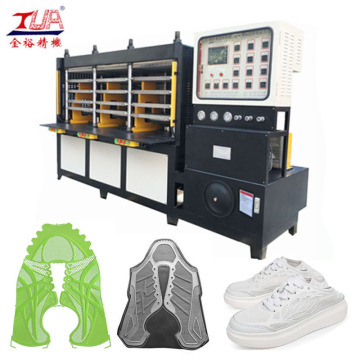 KPU Shoe Upper Molding Equipment con cubierta de seguridad