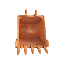 CAT320 narrow and wide rock bucket with teeth