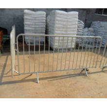Hot-Dipped Galvanized Temporary Crowed Control Barrier Fence