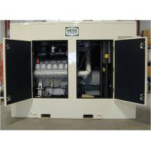 500kW 625kVA MAN Generador de gas del motor silenciado