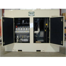500kW 625kVA MAN Engine Gas Generator set Silent