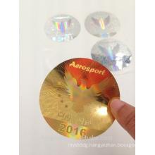 3D holographic laser anti fake sticker label