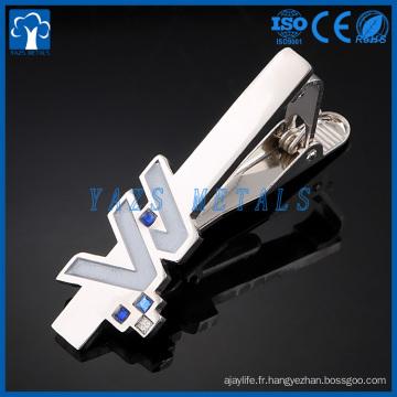 Les fabricants personnalisés de pinces à cravate font votre propre clip de cravate