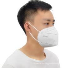 La mejor máscara Kn95 de cinco capas de tela no tejida