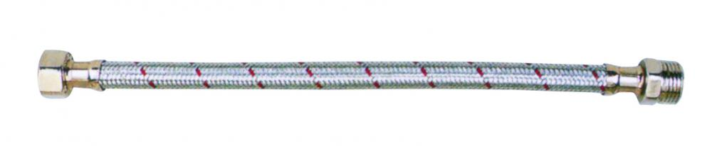 Stainless steel / copper - chrome plated wavy hose - FXF