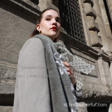 Winter Lady Overcoat voor Spanje Merino Shearling