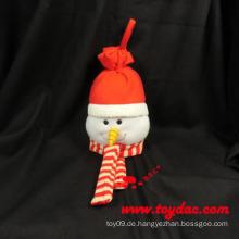 Plüsch Weihnachten Schneemann Puppe Dekoration