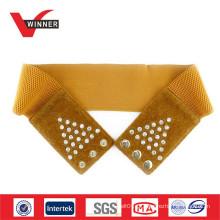 2014 Moda Rhinestone Elastic Belts for Dress