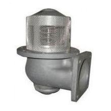 4inch Dn100 válvula pneumática inferior