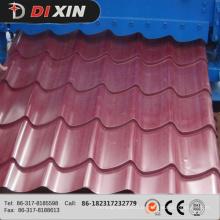 Máquina de formação de rolo de folha de telhado de telha de telha Glazed Dx 1100