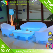 Ensemble de sofa rougeoyant de LED / vente chaude Meubles de LED / nouveau sofa de LED