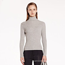Women′s Turtleneck Cashmere Sweater Wool Pullover Long Sleeve Wholesale