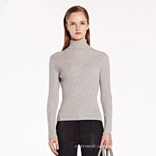 Женщин Кашемировый свитер шерстяной пуловер с длинным рукавом оптом